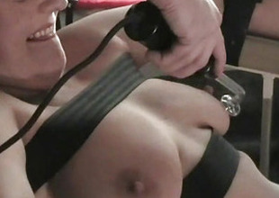 Filthy Shaz medical lesbian fetish and doctors electro bdsm of teat tortured patient in extraordinary slit licking and extreme pain