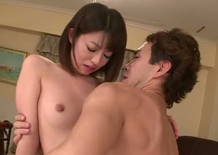 Talented Japanese porn performer Akina Sakura DPed brutally in hardcore video