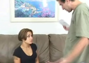 Jean in a huge 10-Pounder ride and naughty blowjob action