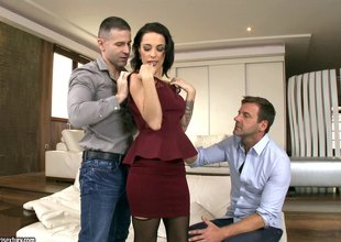 Dual dicking treatment for all of Nikita Belucci's lusty holes