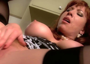Classy looking MILF Brittany Oconnell banged hard by Rocco Reed