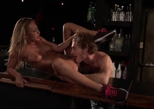 A oral-service in the bar
