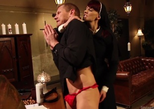 Divine Intervention: A Divine Doxies feature presentation with taboo, punishment and milking!