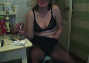 Lustful Homemade video with Masturbation, Russian scenes