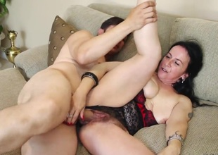 Anthony Rosano bangs in her face hole as hard as possible in oral action