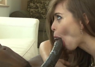 Wesley Pipes receives his always hard snake sucked by Riley Reid