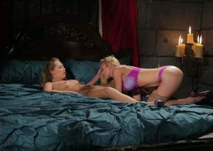 Kayden Kross videos present one more wild lesbian advantage with fantastic depraved blonde babe Carter Cruise. Two pairs of juicy consummate boobs and wet cunts - what else can be better