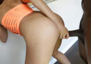 Do u like ebony hardcore Enjoy pornstar Lexington Steele and his giant instrument fucking hard delicious foxy Serena Ali. She really likes this strong thing in her wet pussy
