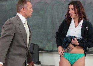 Innocent High-School Slut Fucked By Teacher