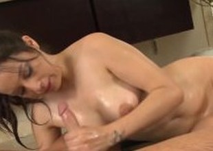 NuruMassage Fellow Gets Nuru Massage and BJ