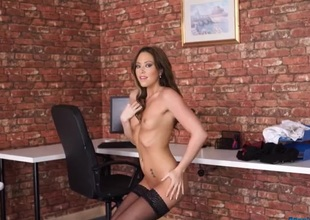 Natalia Forrest strips and blows your mind