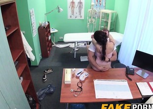 Hot Russian babe Aruna receives fucked by horny doctor