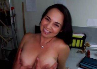 Big boobs casting call suck